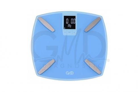 Balanza Digital con Monitor de Grasa Corporal GMD Empaque Con 1 Unidad