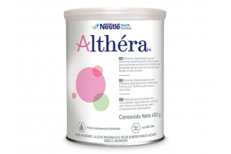 Althéra Polvo Tarro Con 450 g - Sabor Natural