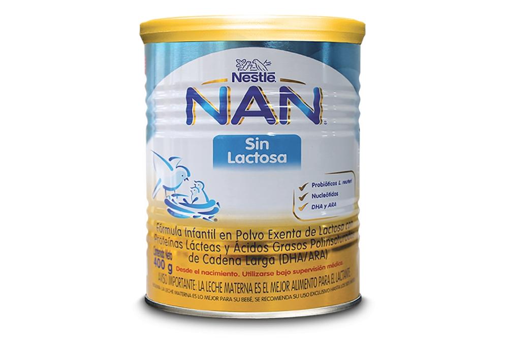Comprar Nan Sin Lactosa Tarro Con 400 g En Farmalisto Colombia. a536035806c94