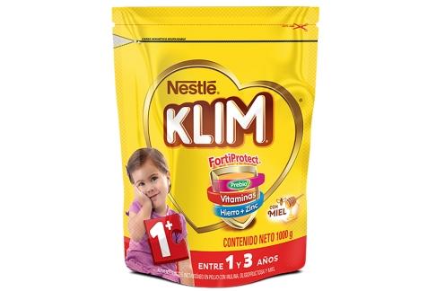 Klim® 1 + Fortiprotect®  Polvo Bolsa Con 1000 g - Miel