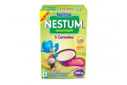 Nestum Cereal Infantil 5 Cereales Caja Con Bolsa Con 200 g