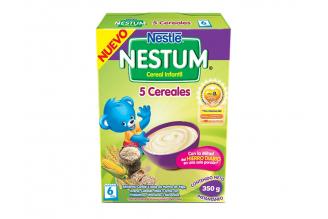 Nestum Cereal Infantil 5 Cereales Caja Con Bolsa Con 350 g