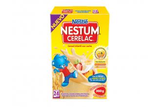 Nestum Cerelac Cereal Infantil Con Leche Caja Con Bolsa Con 360 g