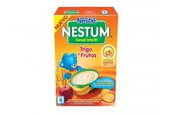 Nestum Cereal Infantil Trigo Con Frutas Caja Con Bolsa Con 200 g