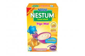 Nestum Cereal Infantil Sabor Trigo Miel Caja Con Bolsa Con 200 g