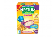 Nestum Cereal Infantil Trigo Miel Caja Con Bolsa Con 350 g