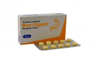 Bon-Digest 5 mg Caja Con 30 Tabletas Recubiertas Rx