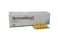 Metronidazol 500 mg Caja X 200 Óvulos Rx2