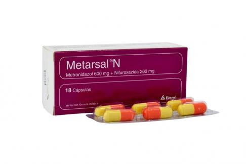 Metarsal N Caja Con 18 Cápsulas Rx