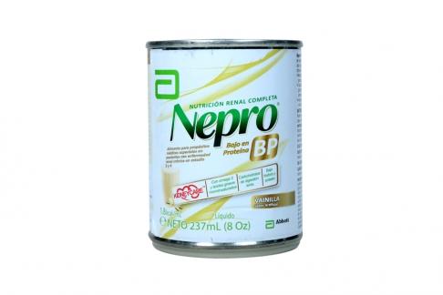 Nepro BP Líquido Tarro Con 237 mL - Sabor a Vainilla
