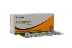 Esomeprazol 20 mg Caja Con 14 Tabletas Con Cubierta Entérica Rx