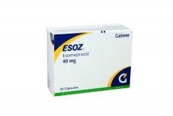 Esoz 40 mg Caja Con 30 Cápsulas Rx