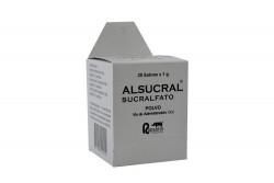 Alsucral 1 g Caja Con 20 Sobres Rx