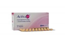 Activa 21 0.15 mg/0.03 mg Caja X 21 Grageas Rx