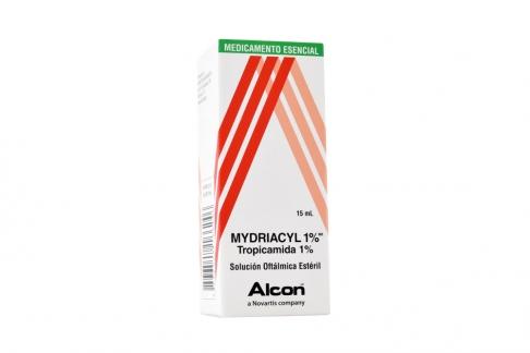 Mydriacyl 1% Caja Con Frasco Gotero Con 15 mL RX