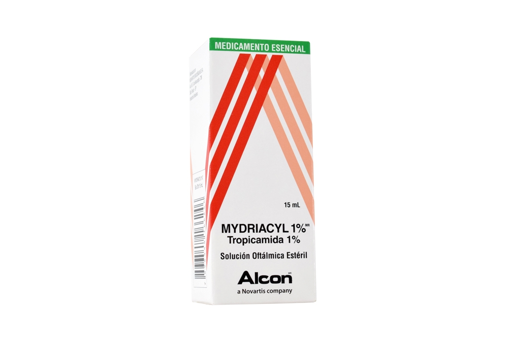 Mydriacyl 1% Caja Con Frasco Gotero x 15 mL RX