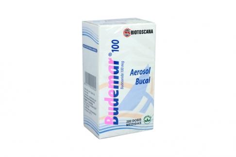 Budemar Bucal 100 mcg Caja Con Aerosol Con 200 Dosis Rx4