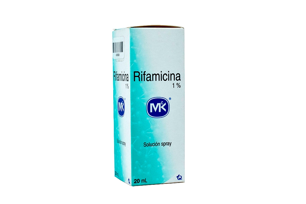 Rifamicina Caja Con Spray x 20 mL Rx2