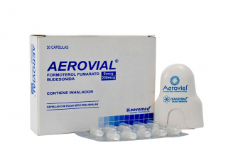 Aerovial 6 / 200 mcg Caja Con 30 Cápsulas Con Inhalador Rx4
