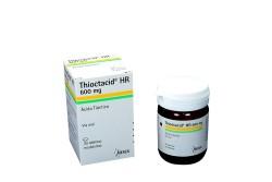 Thioctacid HR 600 mg Caja Con Frasco Con 30 Tabletas Recubiertas Rx4