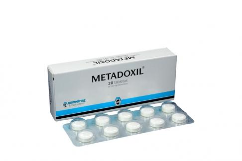 Metadoxil 500 mg Caja Con 20 Tabletas Rx