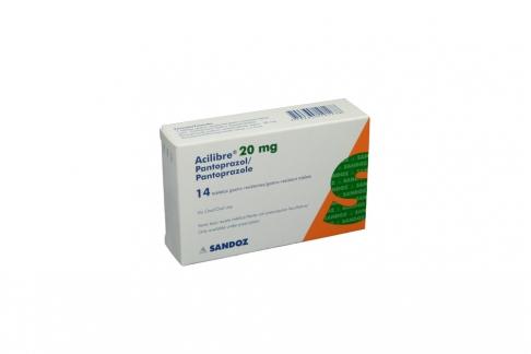 Acilibre 20 mg Caja Con 14 Tabletas Rx