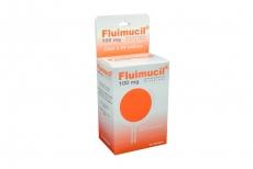 Fluimucil 100 Mg Caja 30 Sobres  Sabor Naranja