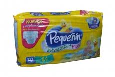 Pañal Pequeñin Extraconfort Plus Paca Con 30 Unidades - Etapa 1