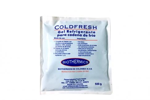 Coldfresh Gel Refrigerante Para Cadena De Frío Bolsa Con 500 g