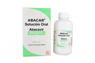 Abacar ® Abacavir 20 mg Caja Con Frasco Con 240 mL Rx Rx4
