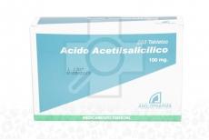 Ácido Acetilsalicílico 100 mg Caja Con 250 Tabletas
