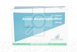 Acido Acetilsalicílico 100 Mg Caja X 250 Tabletas