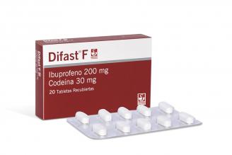 Difast F Caja Con 20 Tabletas Rx