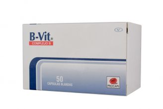 B-Vit Complejo B Caja x 50 Cápsulas Blandas Rx
