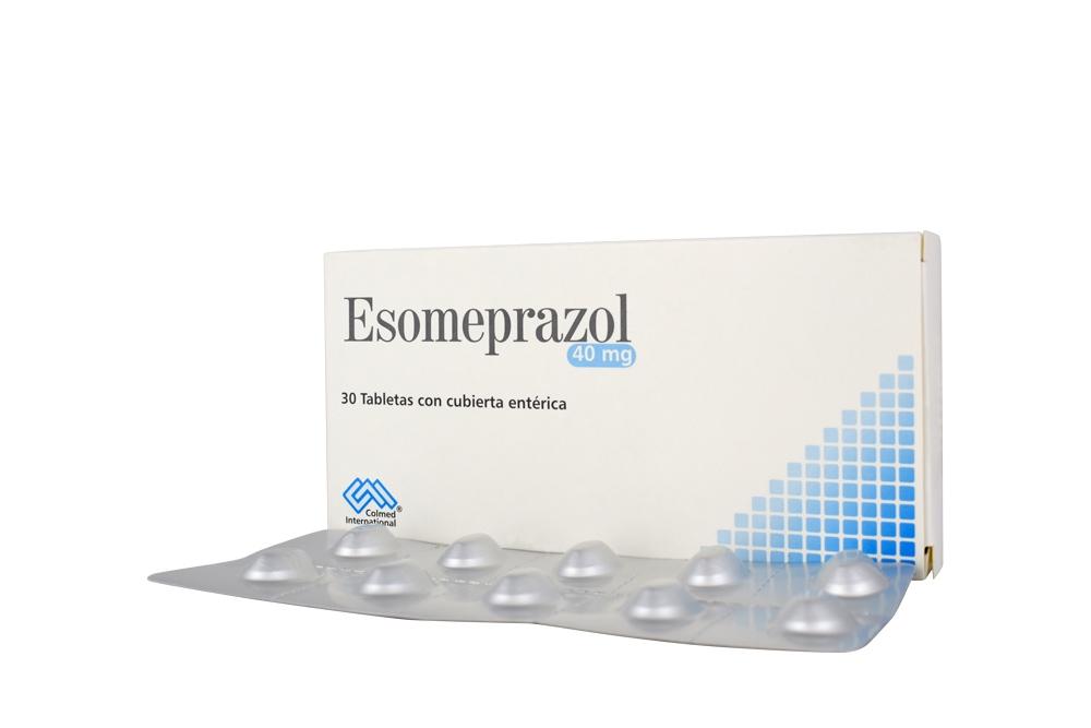 Esomeprazol 40 mg Caja Con 30 Tabletas Con Recubierta Entérica Rx Rx4