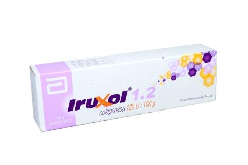 Iruxol 1.2 Ungüento Caja Con Tubo Con 40 g RX