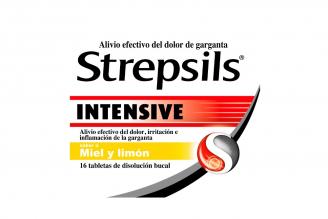 Strepsils Intensive 8.75 mg Caja Con 16 Tabletas De Disolución Bucal