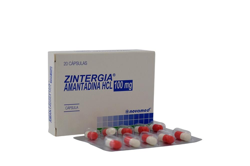 Zintergia 100 mg Caja Con 20 Cápsulas Rx4