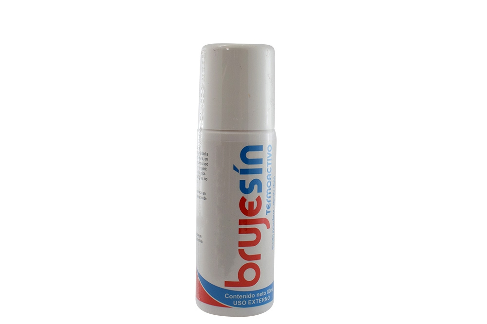 Brujesin Termoact Roll On Frasco X 80 mL