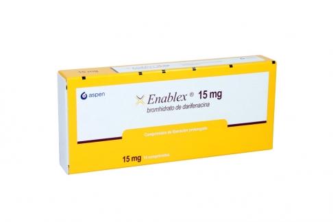 Enablex 15 mg Caja Con 14 Tabletas De Liberación Prolongada Rx Rx1