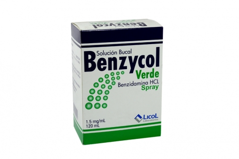 Benzycol Solución Bucal Caja Con Frasco Con 120 mL