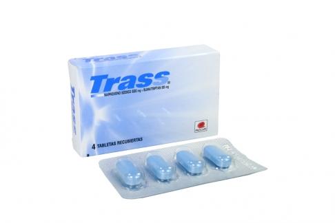 Trass Caja Con 4 Tabletas Recubiertas Rx