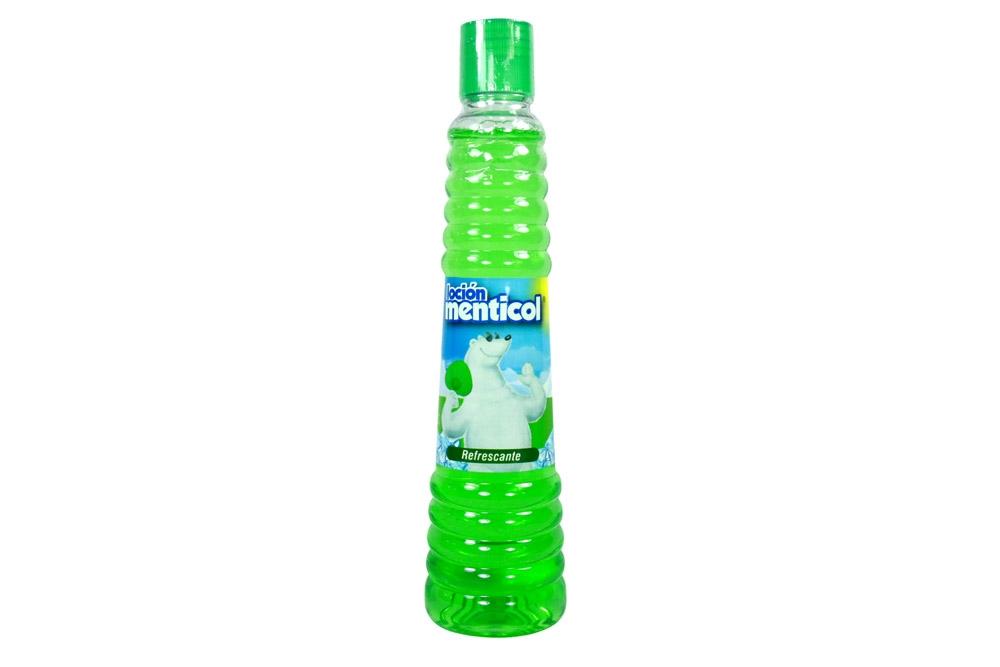 Loción Menticol Refrescante Frasco Con 250 mL