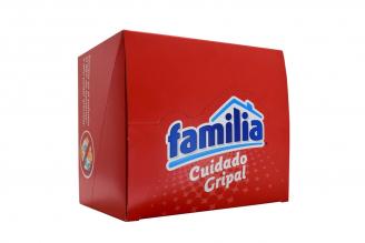 Pañuelos Familia Cuidado Gripal Caja Con 18 Paquetes Con 10 Pañuelos C/U