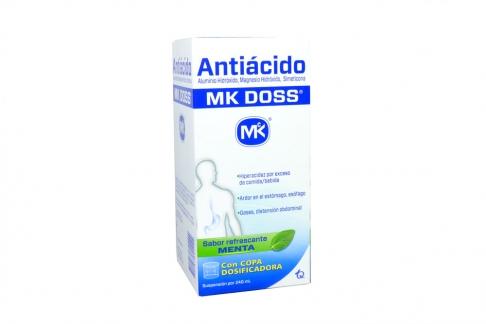 Antiácido Mk Doss Menta Frasco Con 240 mL