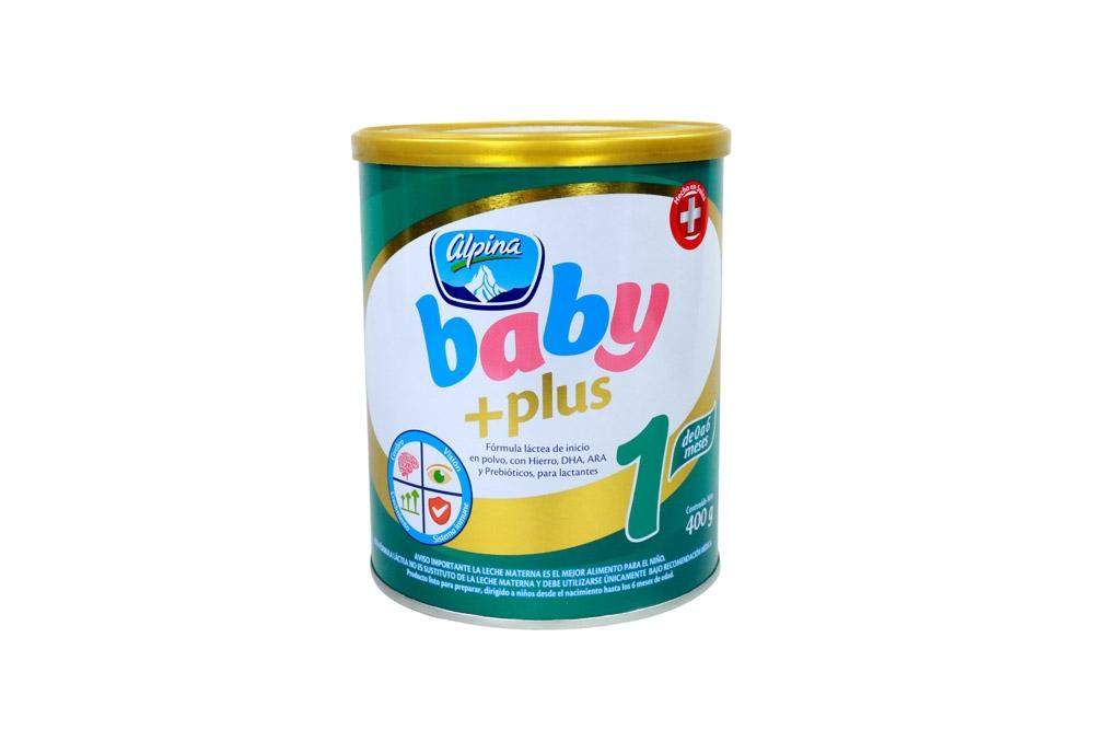 Comprar Alpina Baby Plus 1 Tarro Con 400 G En Farmalisto Colombia