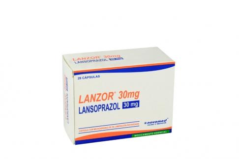 Lanzor 30 mg Caja Con 28 Cápsulas Rx