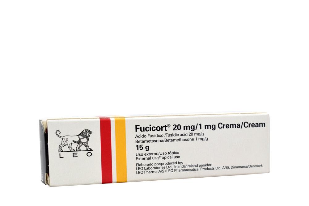 Fucicort 20 / 1 mg Crema Caja Con Tubo Con 15 g Rx
