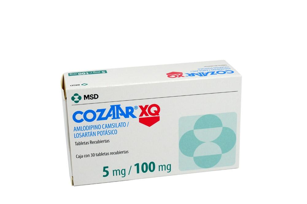 Cozaar Xq 100 / 5 mg Caja Con 30 Tabletas Rx4