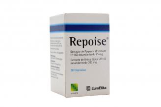Repoise Caja Con 30 Cápsulas Blandas Rx